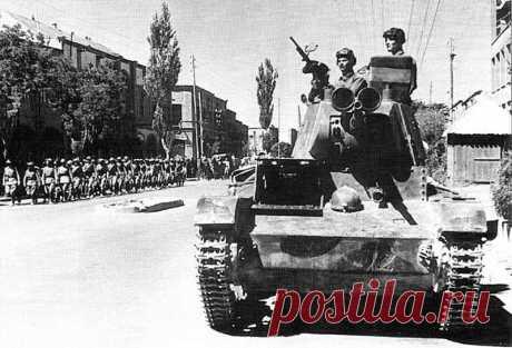 """Операция """"Согласие"""". Ввод советских войск в Иран в 1941 году » Военное обозрение"""