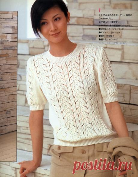 На эти модели можно смотреть вечно Японские узоры для вдохновения | Вязание в радость | Яндекс Дзен