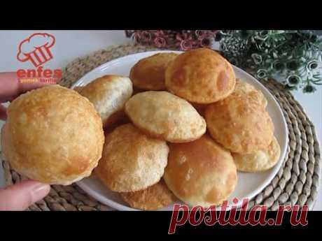 Ни пекарни, ни дрожжей! Используя только муку и воду, я испекла хлеб, который раздувается, как воз