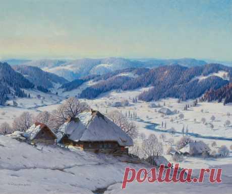 Творчество немецкого художника Карла Гауптмана.