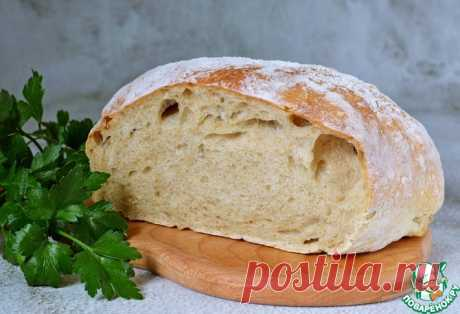 Хлеб без замеса Кулинарный рецепт