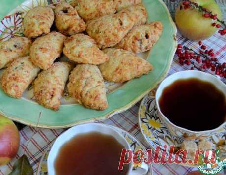 Сырные пирожки с яблоками – кулинарный рецепт