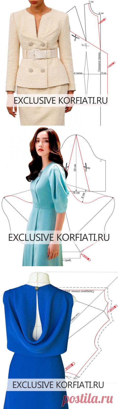 Письмо «Самые нестандартные модели одежды, разработанные по просьбам наших читателей!» — Школа шитья Анастасии Корфиати — Яндекс.Почта