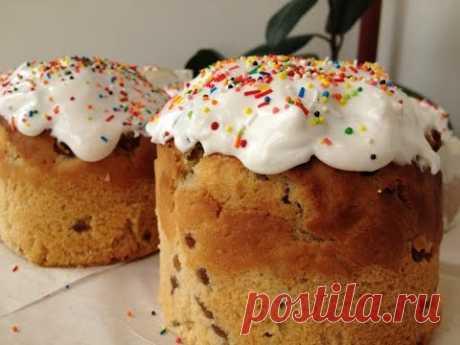 De casa el Ácido paraminosalicílico (la Rosca de Pascua, la Pascua) Receta De abuela (Russian Easter Bread Recipe)