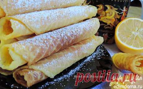 Хрустящие вафли (2 рецепта из одного набора продуктов) в вафельнице | Кулинарные рецепты от «Едим дома!»