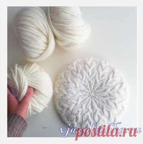 The detailed lesson how takes to knit spokes