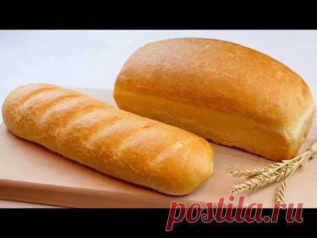 🍞Домашний хлеб без хлебопечки! 🥖 Рецепт хлеба в духовке!