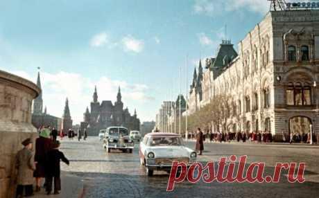Красная площадь, 1958 год.