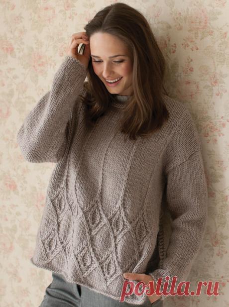 Вязаный свитер KAY | ДОМОСЕДКА