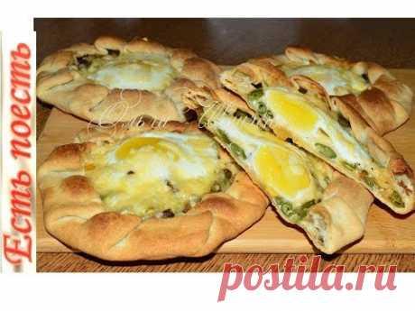 Хрустящие галеты с яйцом на завтрак или перекус