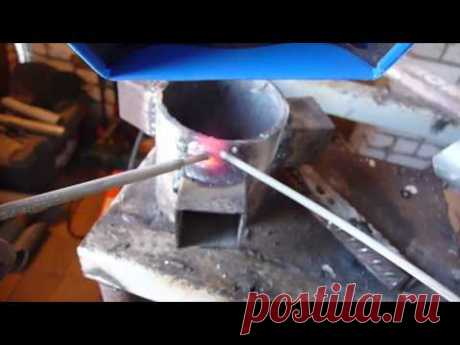 How to see a welding bathtub and to distinguish metal from slag