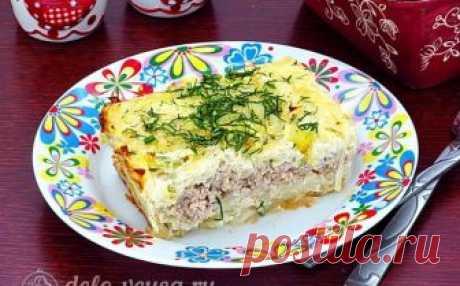 Мусака из белокочанной капусты, рецепт с фото