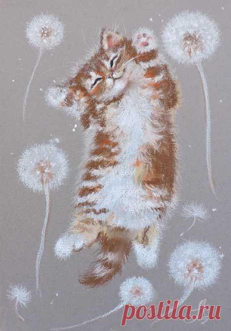 Иллюстрация Летающий Ми. Аннет Логинова