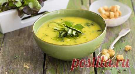 Суп из тыквы и цукини. Этот суп поднимет настроение и зарядит позитивом даже в промозглый холодный день.