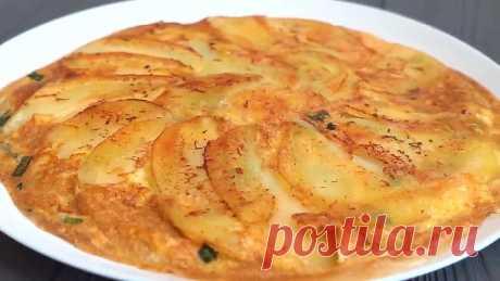 Быстрый завтрак из картофеля