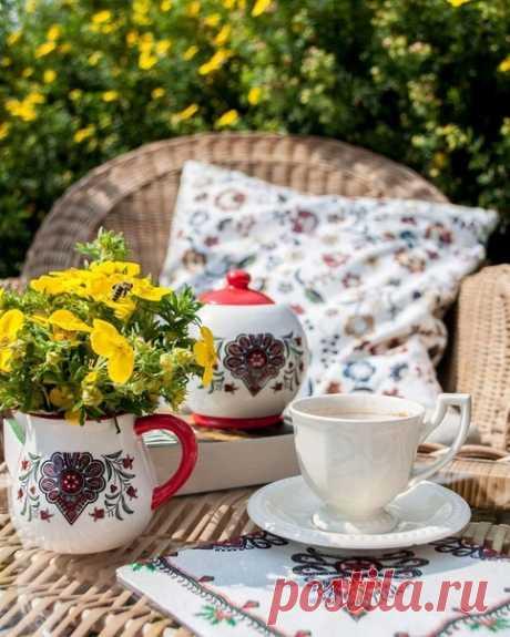Доброе утро!Радуемся новому дню и улыбаемся!