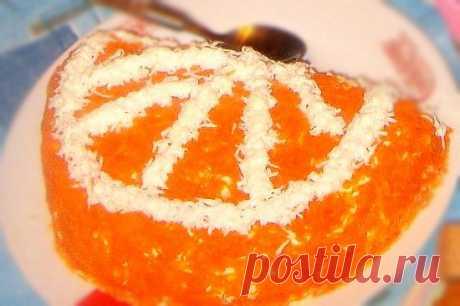 Апельсиновая долька— праздничный салат на день рождения « Рецепты салатов