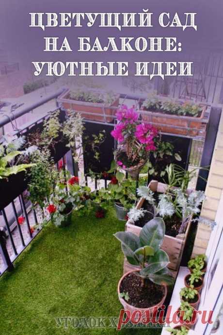 Использование балкона в качестве склада для ненужных вещей — непозволительная роскошь. Даже самый маленький балкон можно легко превратить в цветущий сад!