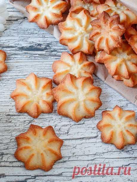 """Рецепт песочного печенья """"Минутка"""" на Вкусном Блоге"""