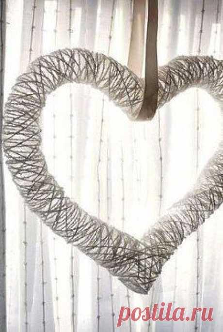 Воздушное сердце.