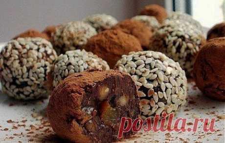 Полезные домашние конфеты | Банк кулинарных рецептов