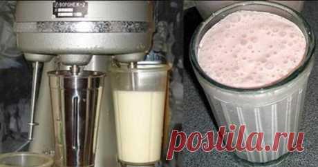 Приготовление советского молочного коктейля | Делимся советами