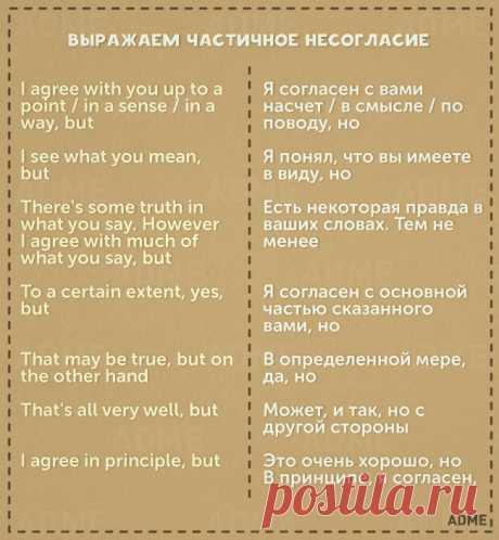 11карточек снеобходимыми фразами для общения наанглийском