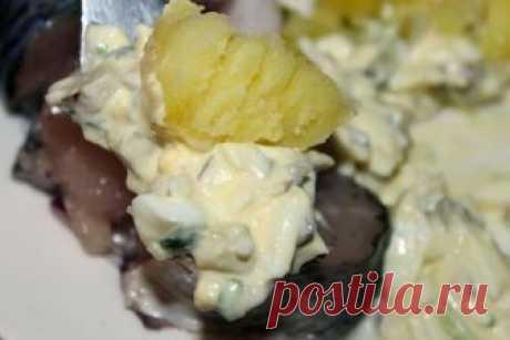 Заправка для вареного картофеля