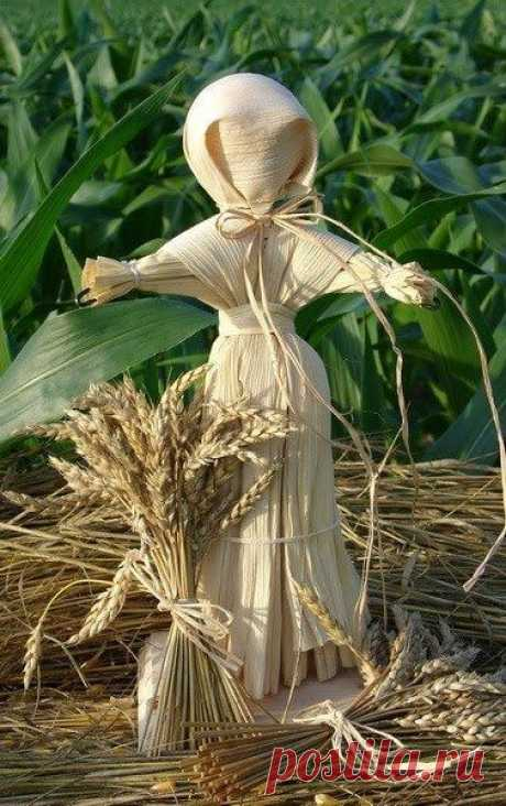 Кукла оберег из кукурузных листьев: мастер-класс ~ Свое рукоделие