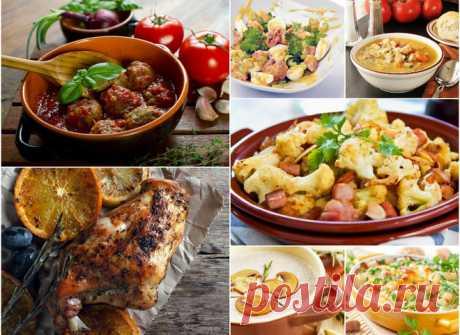 7 ужинов: осеннее меню на неделю - tochka.net