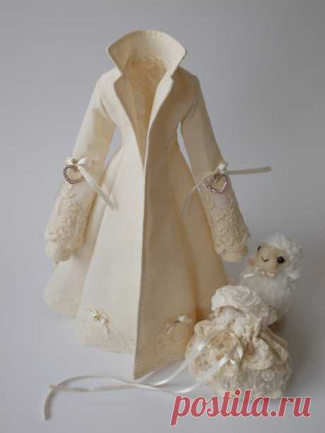 PDF sewing pattern for COAT for Tilda doll 65 cm | Etsy
