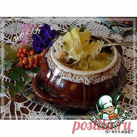 """Горшочек с мясом и овощами """"Семейный ужин"""" - кулинарный рецепт"""