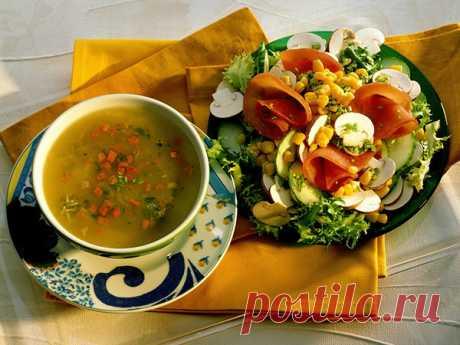 Великий пост. Рецепты салатов и супов