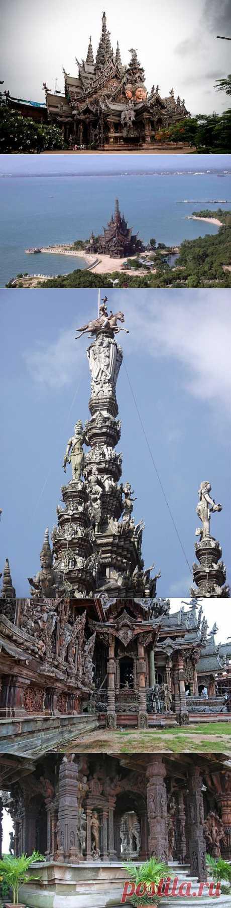 (+1) тема - Храм Истины в Паттайе. | Искусство
