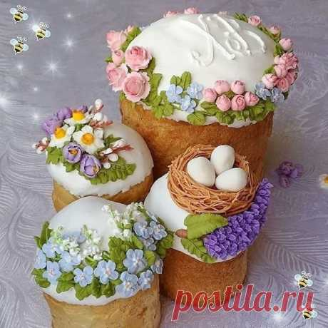 What beautiful registration of Easter cakes!
