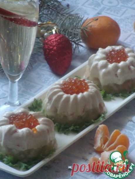 Festive jellied fish - the culinary recipe