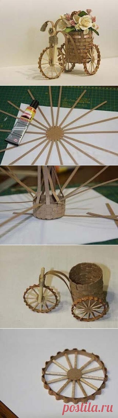 Декоративный велосипед своими руками — Сделай сам, идеи для творчества - DIY Ideas