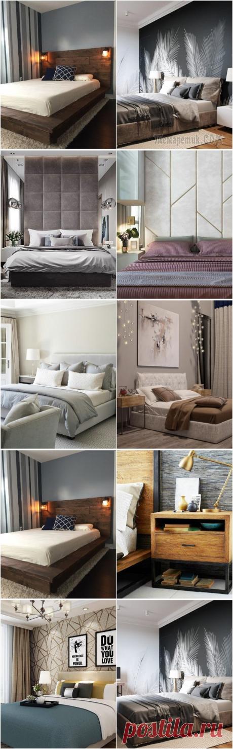6 беспроигрышных решений в интерьере спальни в 2021 году