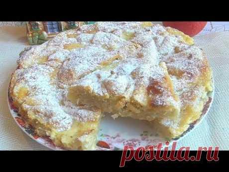 Пирог получается вкусным, неординарным и восхитительно нежным! Ингредиенты: 500 г слоеного бездрожжевого теста 50 г сливочного масла 2 яйца 100г сахара молок...