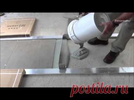 Интересный способ укладки плитки