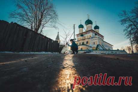 Воскресенский собор, город Тутаев. Автор фото: Владимир Воронин.
