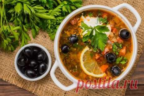 «Упрощенная» солянка: делюсь своим рецептом вкусного супа   Наша Дача   Яндекс Дзен