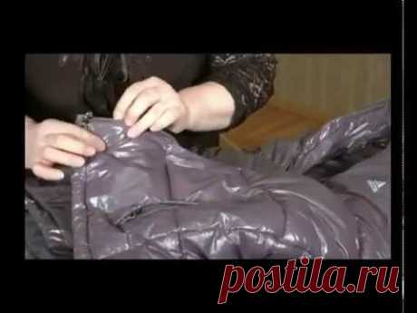 Замена молнии на куртке - YouTube