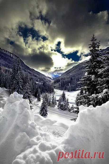 Winter mountains  |  Pinterest • Всемирный каталог идей