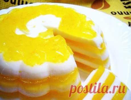 """Удивите своих гостей десертом """"Апельсиновое чудо"""""""