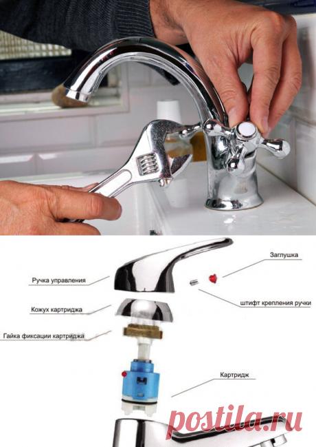 Как отремонтировать смеситель | Блог сантехника | Яндекс Дзен
