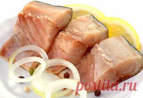 Самый лучший способ посола рыбы в масле - Четыре вкуса - медиаплатформа МирТесен