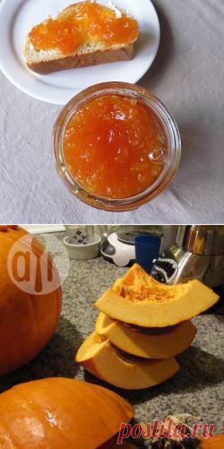 Рецепт: Варенье из тыквы с имбирем - все рецепты России