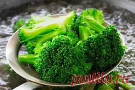 Как варить капусту брокколи