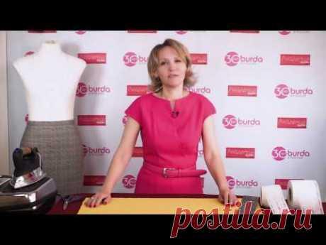 Формовка прямого пояса своими руками (видео) — Мастер-классы на BurdaStyle.ru